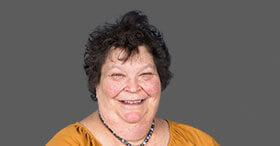 Ibrance (palbociclib) Ambassador Dina smiling